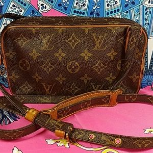 Authentic Louis Vuitton Monogram Crossbody Bag